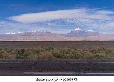volcano in San Pedro de Atacama Chile