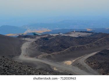 Volcano in Sicily
