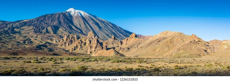 Volcano Teide at the Island of Tenerife - Panorama