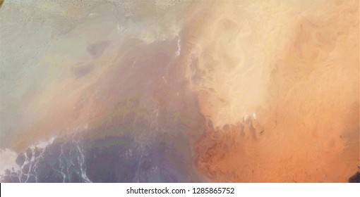 volcano, tribute to Turner, abstract photography of the deserts of Africa from the air, aerial view, abstract expressionism, contemporary photographic art,