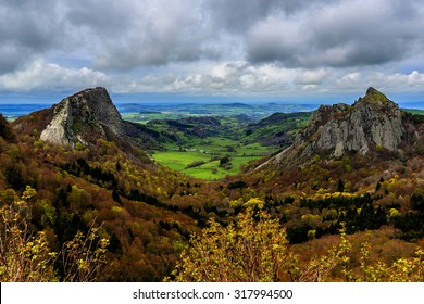 Volcans d'Auvergne regional natural park, Monts Dore Mountains, Auvergne, France