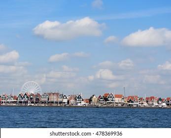 VOLENDAM NETHERLANDS 2016. Popular touristic destination in North Holland
