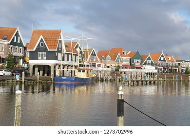 VOLENDAM, NETHERLANDS - DEC 11, 2018 - 