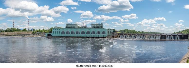 Volkhov old hydropower plant