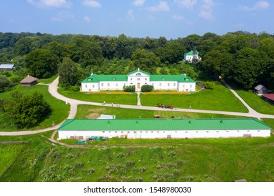 The Volkonskiy house at the Yasnaya Polyana Tolstoy's estate in Russia where Leo Tosltoy's grandfather Nikolai lived, is the oldest structure on the estate.