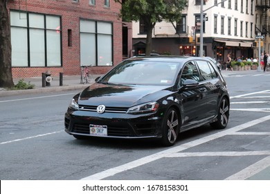 Volkswagen Golf R in New York City