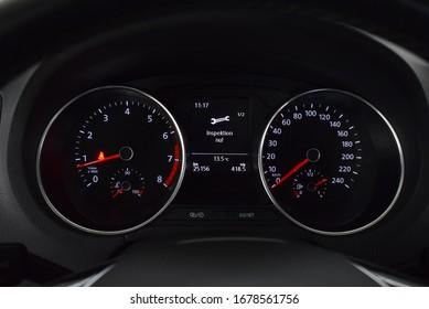 Volkswagen Polo 2016 interior  Cockpit  inside details   vw