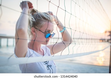 Volleybal on the beach