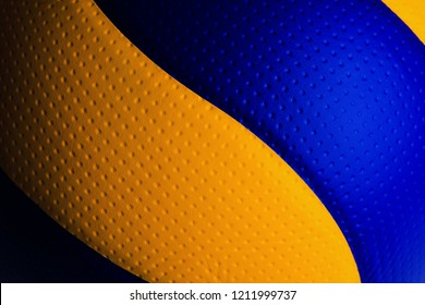 volleyball ball isolated