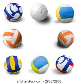 Volleyball, Ball, Sport.