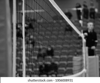 volleyball indoor match