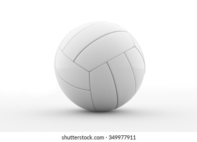 Volleyball  / Volleyball isolated on a white background / leather volleyball isolated on white