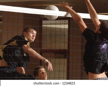 volleyball spike