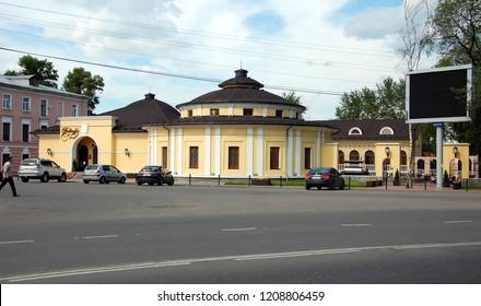 VOLOGDA, RUSSIA - JULY 29, 2012: Italian Restaurant Bellagio in Vologda, Russia