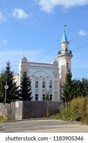 VOLOGDA, RUSSIA - SEPT 08, 2018 - Vologda Cathedral Mosque Al-Djuma, Russia
