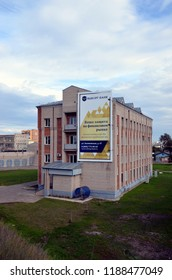 VOLOGDA, RUSSIA - SEPT 3, 2016:  Apartment house in Vologda, Russia