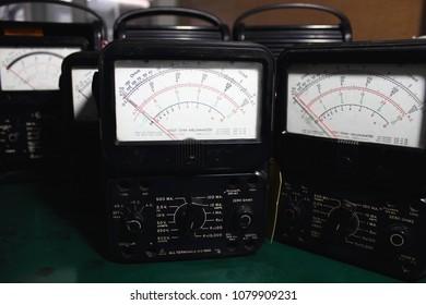 Volt Ohm Milliammeter ,Multimeter.