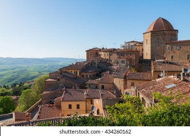 Volterra beautiful medieval town in Tuscany, Italy