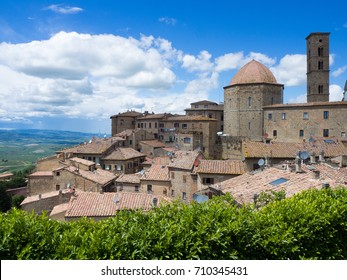 Volterra beautiful medieval town in Tuscany, Italy.