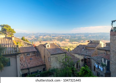 Volterra, Pisa, Tuscany, Italy, view of the historic city.