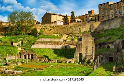 1st century bce images stock photos vectors shutterstock volterra roman theatre ruins 1st century bce tuscany italy europe publicscrutiny Images