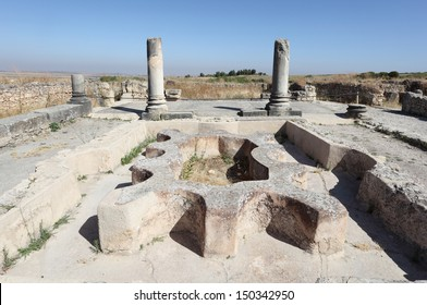 Volubilis - Roman ruins in Morocco, North Africa