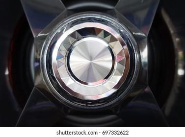 Volume button on chrome radio