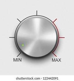 Volume knob