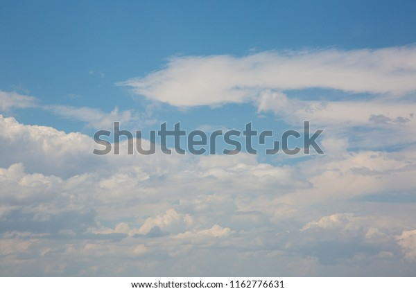 Volumetric Clouds Sky Mountains Stock Photo (Edit Now