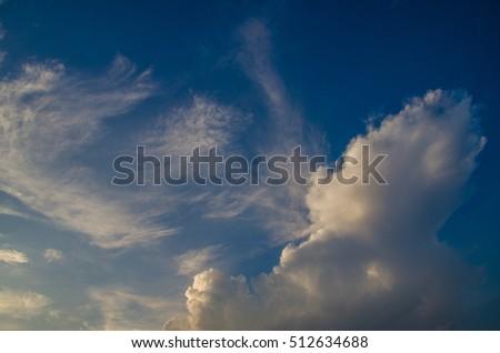 Volumetric Clouds Sunset Stock Photo (Edit Now) 512634688 - Shutterstock