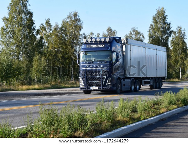 Volvo Fh16 750 Truck On Road Stock Photo Edit Now 1172644279