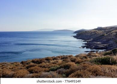 Küste von Bodrum, Türkei