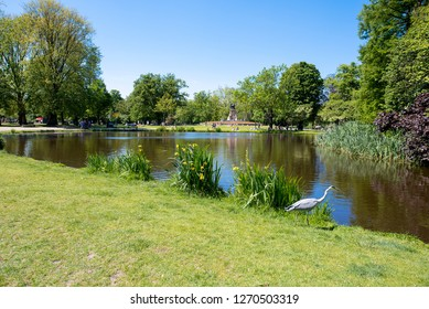 The Vondelpark is a public urban park of 47 hectares in Amsterdam, Netherlands. Yearly, the park has around 10 million visitors.