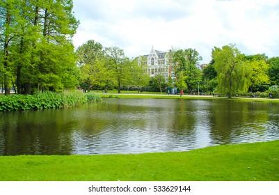 Vondelpark, public urban park of 47 hectares (120 acres) in Amsterdam, Netherlands