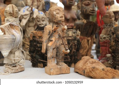 Voodoo Fetish Market in Togo, Africa