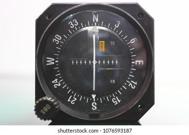 VOR/LOC Indicator ,Avionics equipment.