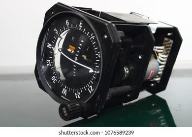 VOR/LOC Indicator , Avionics equipment in aircraft with maintenance.