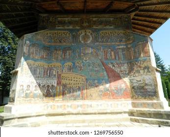 Voronet Monastery in Moldova