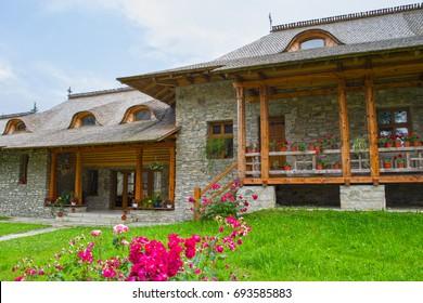 Voronet Monastery is one of the oldest orthodox monastery in Moldavia, Romania