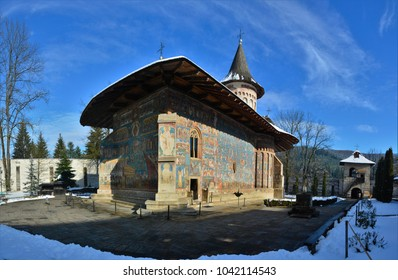 the Voronet monastery - Romania