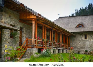 Voronet monastery from Suceava County, Bucovina, Romania.