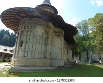 Voronet Orthodox Monastery in Romania, Europe