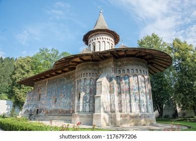 Voronet Painter Monastery in Bucovina