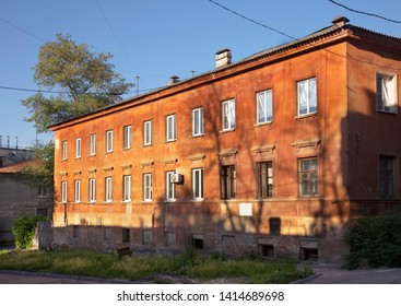 VORONEZH. RUSSIA. 19 MAY 2019 : House - Ark in Voronezh. Russia