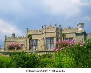 Vorontsov palace in Alupka, Crimea