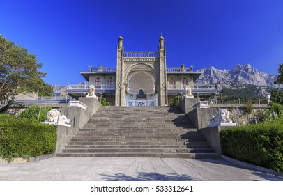 Vorontsov palace at Alupka, Crimea