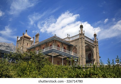 Vorontsov Palace at Alupka, South Shore of Crimea