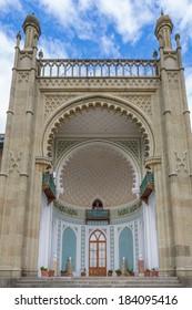 Vorontsov Palace, vintage home of Crimea wealthy