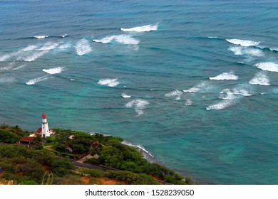 The vortex and the lighthouse in Hawaii islands