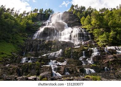 Voss waterfall